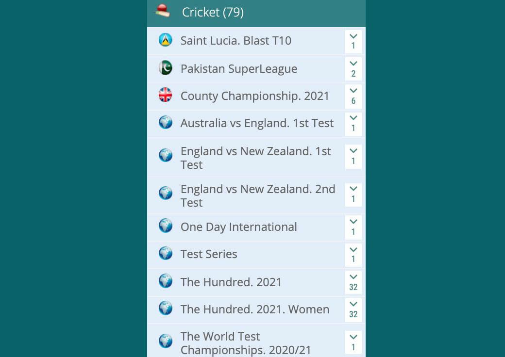 22bet cricket